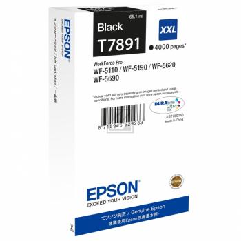 Epson C13T789140 / T7891 Tinte Black