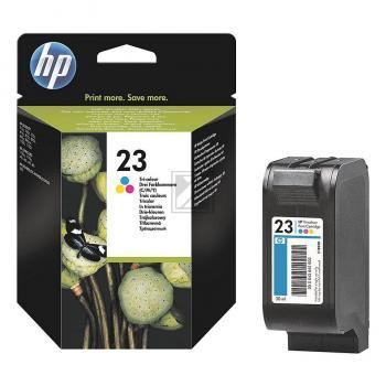 Hewlett Packard Tintendruckkopf cyan/gelb/magenta (C1823DE, 23)