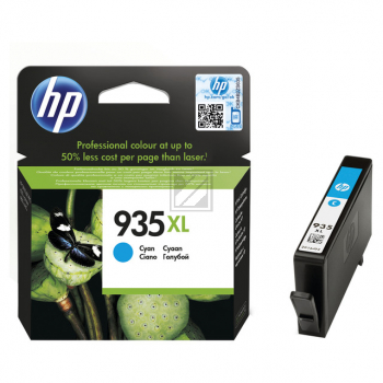 Hewlett Packard Tintenpatrone cyan High-Capacity (C2P24AE, 935XL)