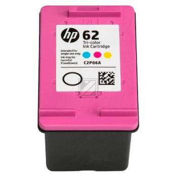 Hewlett Packard Tintendruckkopf cyan/gelb/magenta (C2P06AE, 62)