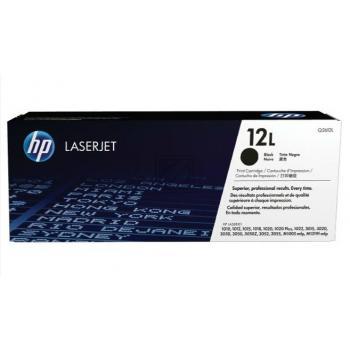 Hewlett Packard Toner-Kartusche schwarz (Q2612L, 12L)