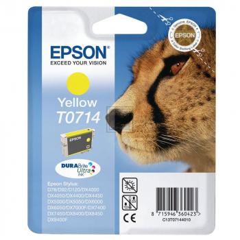 Epson Tintenpatrone gelb High-Capacity (C13T07144010, T0714)