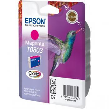 Epson Tintenpatrone magenta (C13T08034010, T0803)