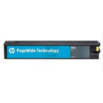 HP Tinte 981XL0R09A cyan / L0R09A