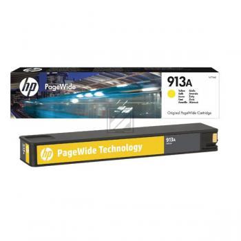HP F6T79AE / 913A Tinte Yellow