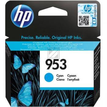 Hewlett Packard Tintenpatrone cyan (F6U12AE, 953)