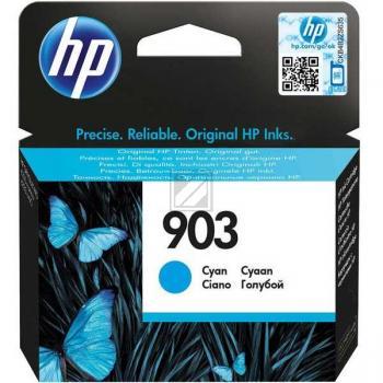 Hewlett Packard Tintenpatrone Kartonage für Hakenwand cyan (T6L87AE, 903)