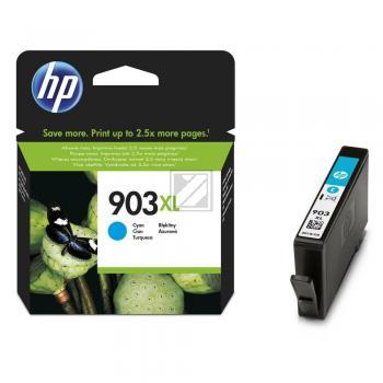 Hewlett Packard Tintenpatrone Kartonage für Hakenwand cyan High-Capacity (T6M03AE, 903XL)