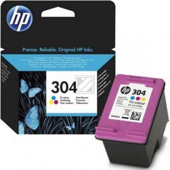 Hewlett Packard Tintendruckkopf cyan/gelb/magenta (N9K05A, 304)
