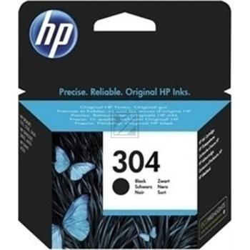 Original HP N9K06AE / 304 Tinte Schwarz