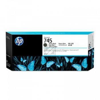 HP 745 Original Ink Cartridge black matt 300ml F9K05A