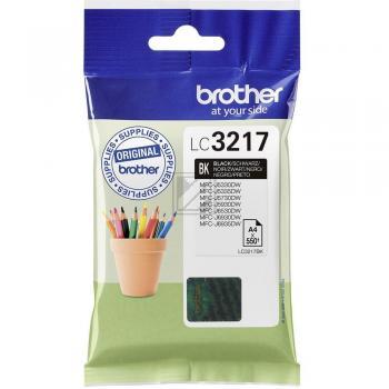Brother Tintenpartrone schwarz (LC-3217BK)