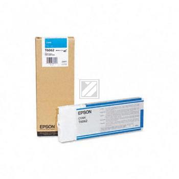 Epson Tintenpatrone cyan High-Capacity (C13T565200 C13T606200, T6062)
