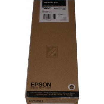 Epson Tintenpatrone Photo-Tinte Photo schwarz High-Capacity (C13T565100 C13T606100, T6061)