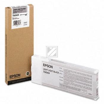 Epson Tintenpatrone schwarz light, light High-Capacity (C13T565900 C13T606900, T6069)