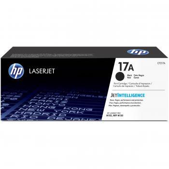 HP 17A Original Toner black 1.600 Pages JetIn CF217A