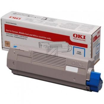 OKI TONER Cyan C532/C542/MC573 1.5K 46490403