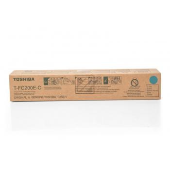 Original Toshiba 6AJ00000119 / T-FC 200 UC Toner Cyan