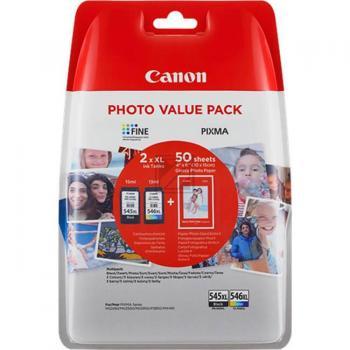 PG-545XL CL-546XL Photo Value Pack 8286B006