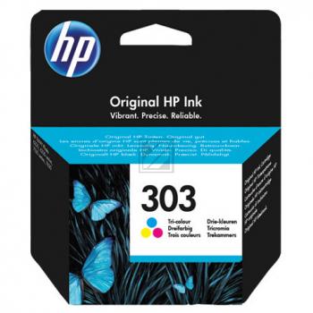 HP 303 Original Ink Cartridge tri-color 165 Pages T6N01AE#UUS