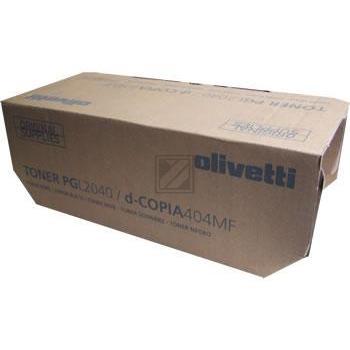Original Olivetti B0810 / B0810 Toner Schwarz