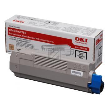 OKI Toner-Kit schwarz (43865708 43872308)