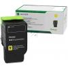 LEXMARK C242XY0 | 3500 Seiten, LEXMARK Tonerkassette mit sehr hoher Reichweite, gelb