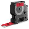 Dymo 45807 S0720870 D1-Band 19mm schwarz auf rot