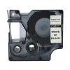 Dymo Schriftbandkassette weiß/schwarz (45021)