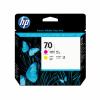 HP 70, HP Druckkopf, magenta und gelb