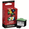 Lexmark Tintendruckkopf cyan/gelb/magenta HC (10NX227E, 27HC)