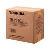 TOSHIBA TB281C, TOSHIBA Resttonerbehälter
