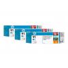 HP 91 | Combopack 3er Set, HP Tintenpatrone, cyan