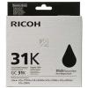 RICOH GC31K | 1500 Seiten, RICOH Tintenpatrone, schwarz