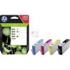 HP 364XL | Combopack 4er Set, HP Tintenpatronen, schwarz, cyan, magenta und gelb